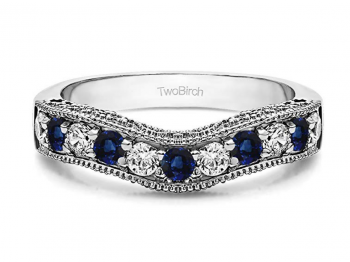 Our Favorite Sapphire Wedding Bands For 2019 Jewelryjealousy
