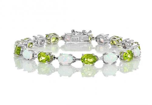 Ice Gems Oval-Cut Bracelet
