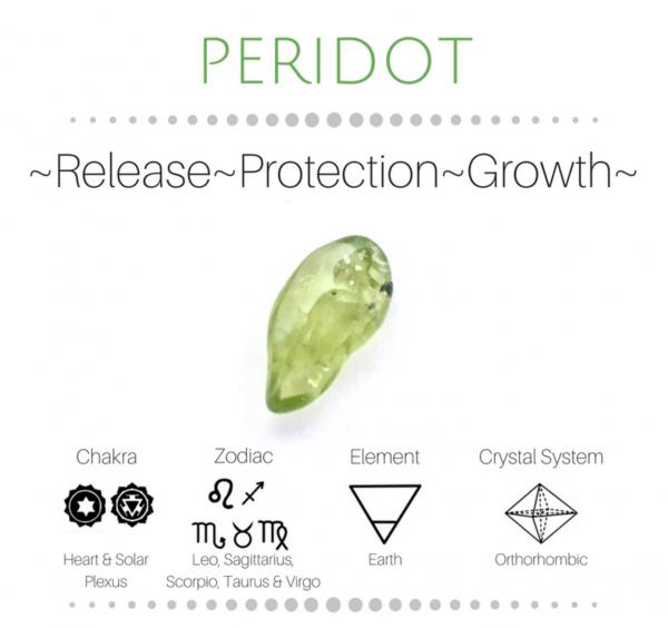 Peridot Stone physical properties