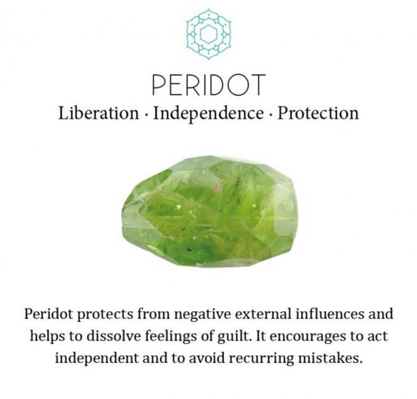 Peridot stone healing properties