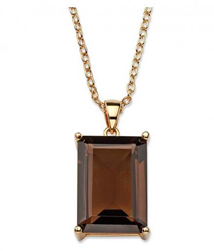 Palm Beach Jewelry Emerald-Cut Necklace