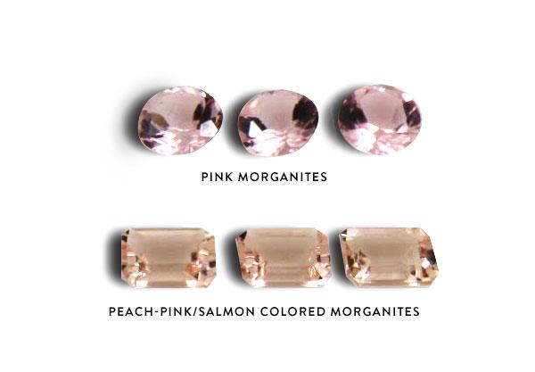 Morganite Colors