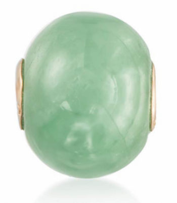 Ross-Simons Bead with Gold Jade Pendant
