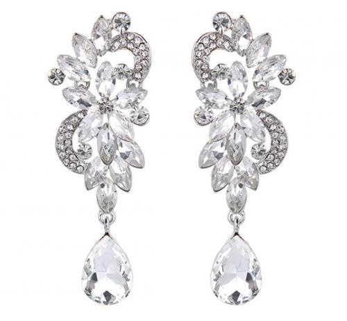 BriLove Flower Earrings