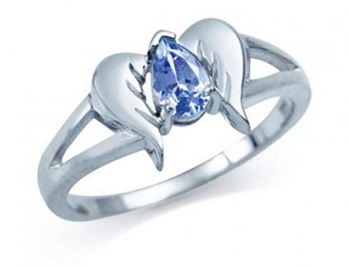 Silvershake Angel Wings Ring
