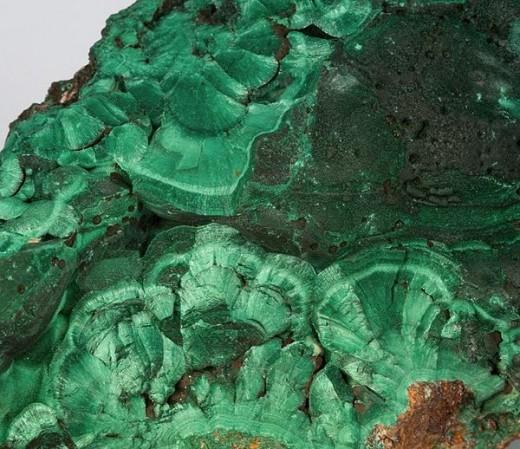 Chatoyant malachite from Arizona