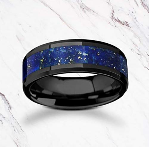 2. Blue Lapis Lazuli Stone Ring