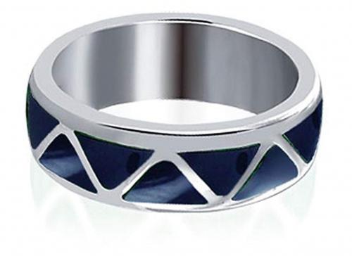 7. Gem Avenue Southwestern Style Lapis Lazuli Ring