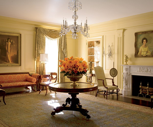 Vermeil Room at the White House