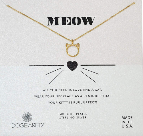 Cat Necklace MEOW