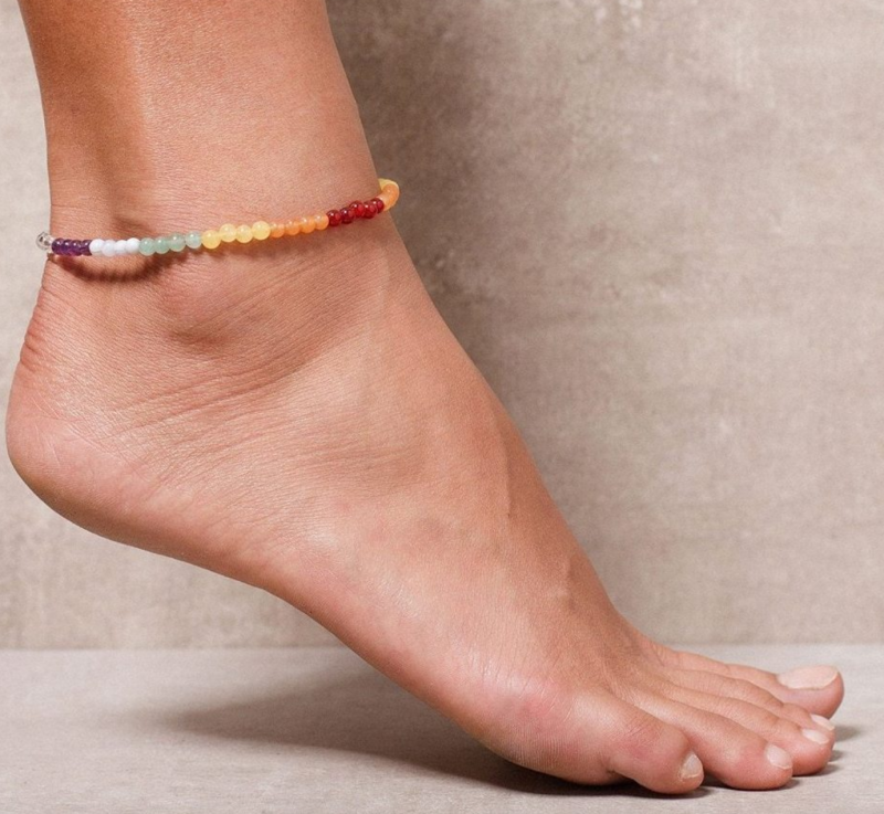 Ankle Chakra Bracelets