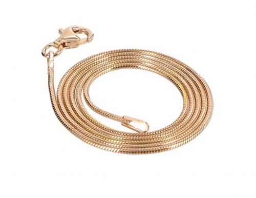 Gem Avenue 14k Rose Gold Vermeil Necklace