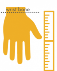 how to measure wrist size for chains