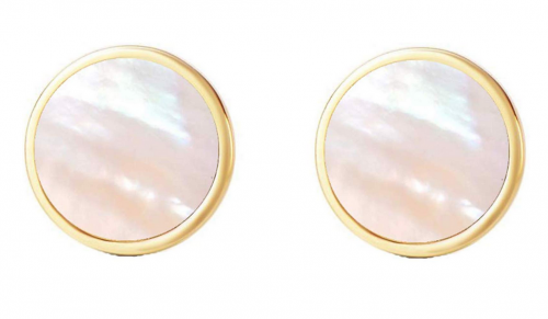 I'S ISAACSONG 18k Gold Plated Stud Earrings