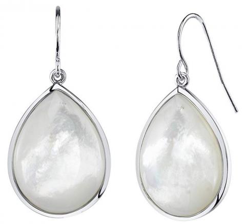 THE PEARL SOURCE White Earrings