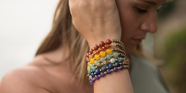 Stacked Chakra Bracelets