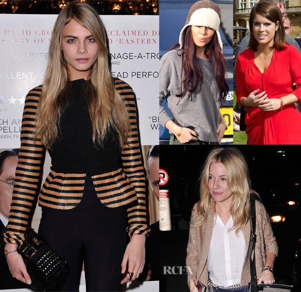 Celebrities with chakra bracelets