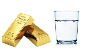 how to test gold: The Float Test
