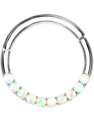 Pearl and Steel Bull Ring Clicker