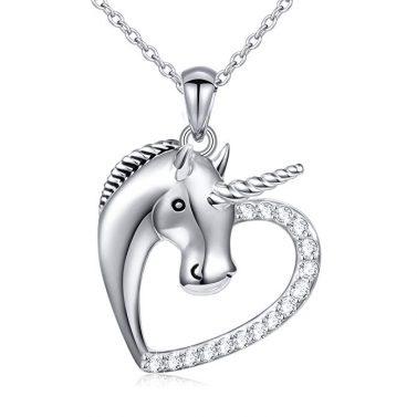 Unicorn Heart Pendant