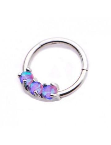 Three Opal Bull Ring