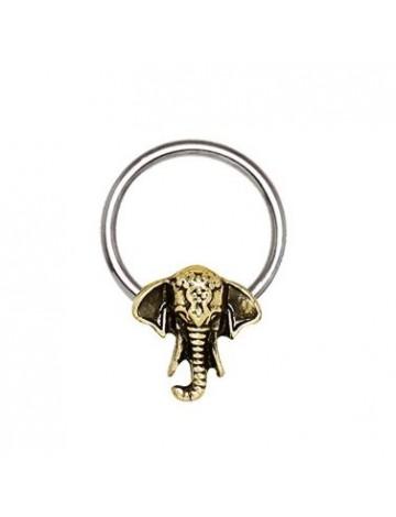 Elephant Captive Ring