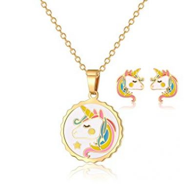 Vinjewelry Unicorn Pendant