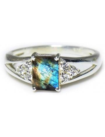 55Carat Labradorite Promise Ring
