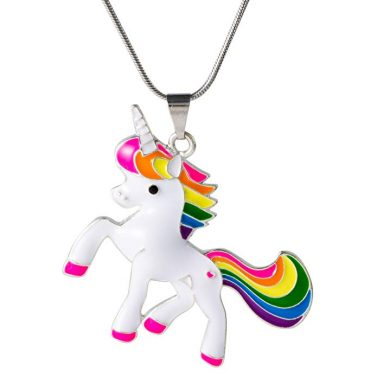 Unicorn Necklace for Women and Girls
