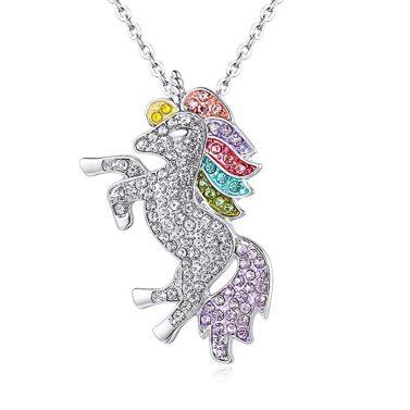 Haoer Unicorn Pendant Necklace