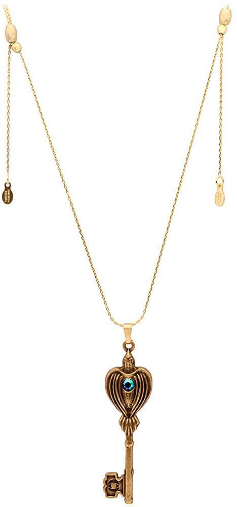 Alex and Ani Womens Raven Key Pendant Necklace