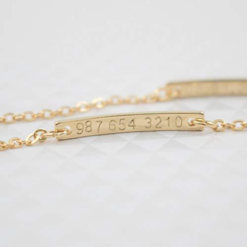 Baby Name Bar id Bracelet Inside