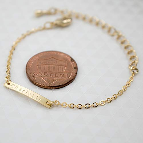 Baby Name Bar id Bracelet Size