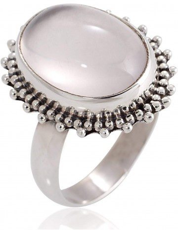 Chuvora Sterling Silver Moonstone Ring