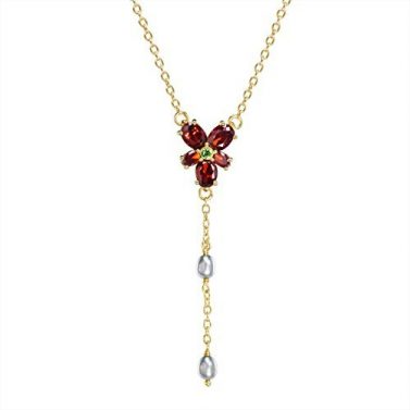 Hermione Red CrystaNoble Collection - Harry Potter Hermione's Red Crystal Necklace