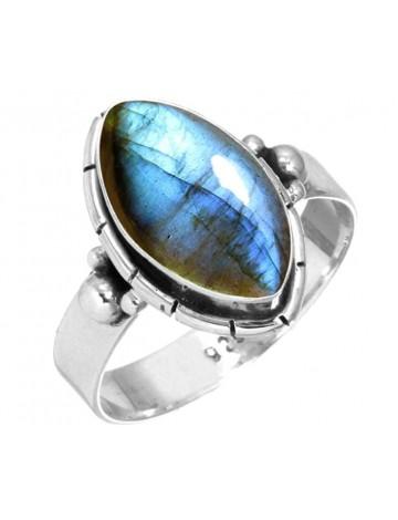Jeweloporium Handmade Labradorite Ring