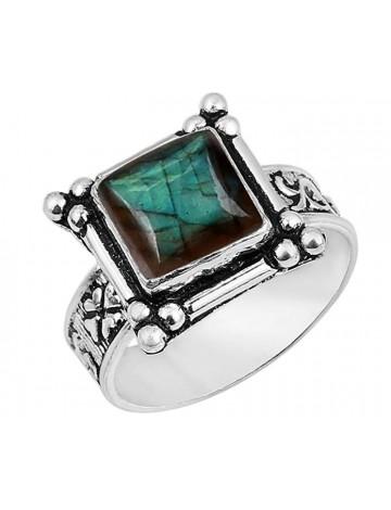 Sterling Silver Jewelry Labradorite Ring