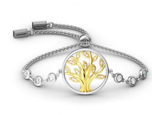Jeulia Circle Of Life Bolo Bracelet