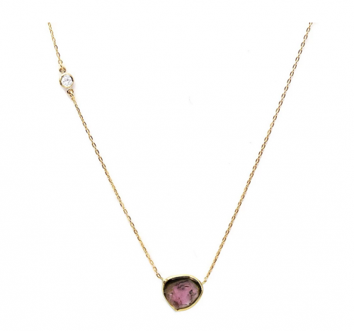 Camille Jewelry Pink Tourmaline Necklace