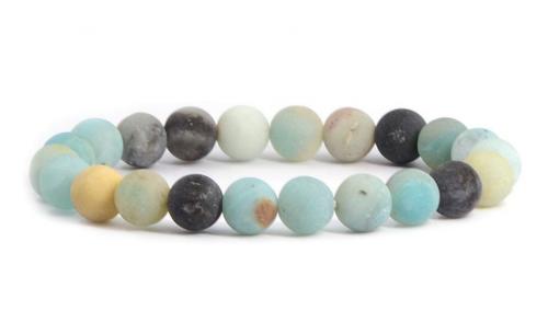 Justinstones Unisex Amazonite Beads Bracelet