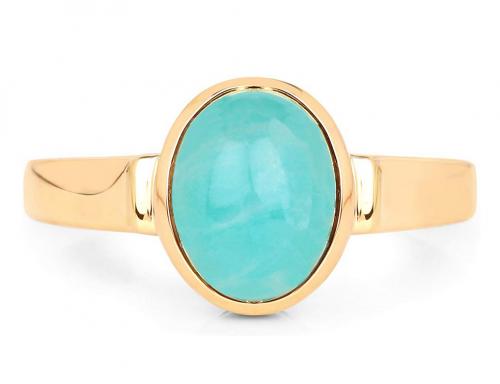 LoveHuang 18KT Yellow Gold-Plating Ring
