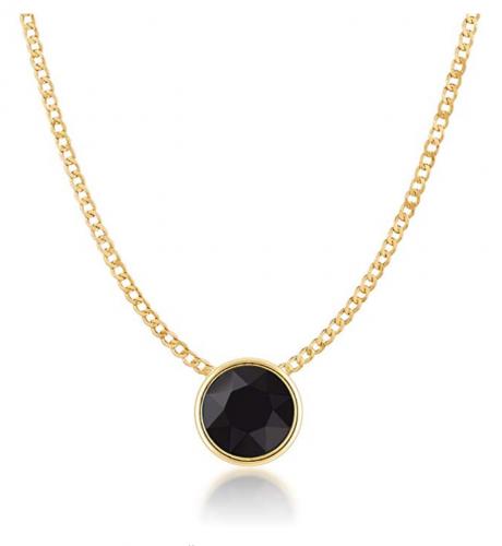 Ed Heart Small Pendant Necklace with Swarovski