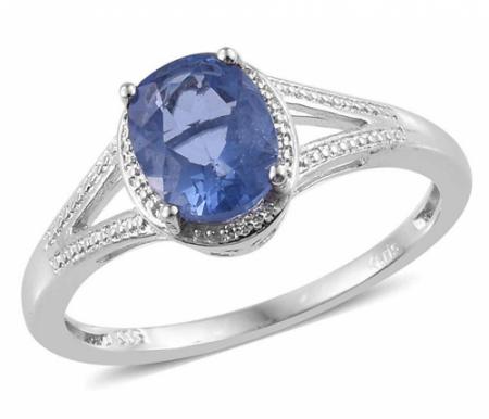 Shop LC Fluorite Statement Ring
