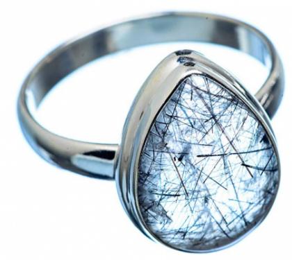 Ana Silver Co Tourmalinated Quartz Ring