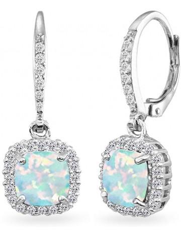 GemStar USA Sterling Silver Earrings