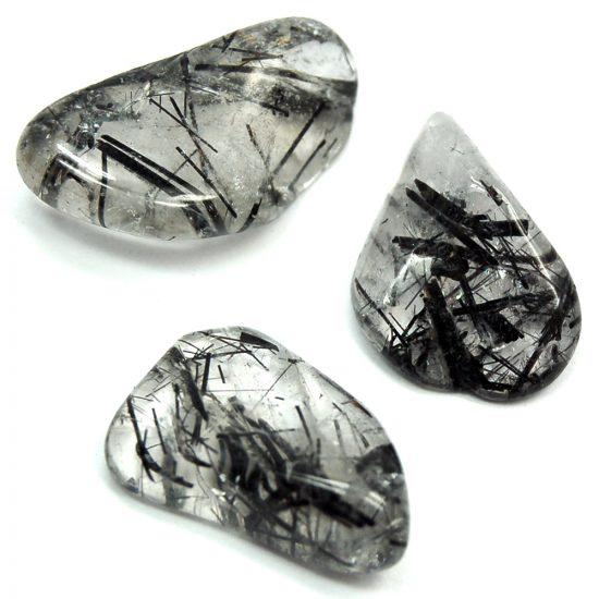 tourmalinated quartz, crystals for protection