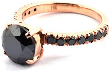skyjewels black diamond ring collection
