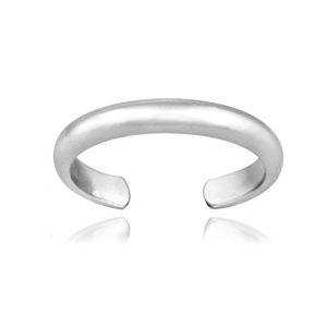 Hoops & Loops Sterling Silver Simple Ring