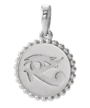 Black Bow Jewelry Co. Sterling Silver Eye of Horus Pendant