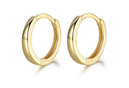 MASOP Men's Gold Hoop Earrings